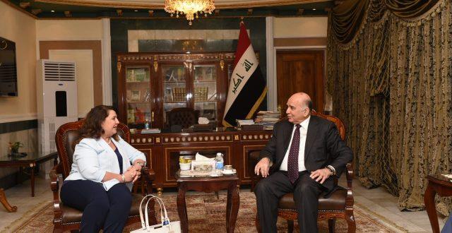 نائب رئيس الوزراء للشؤون الاقتصادية يستقبل مدير البرنامج الانمائي لمنظمة الأمم المتحدة في العراق