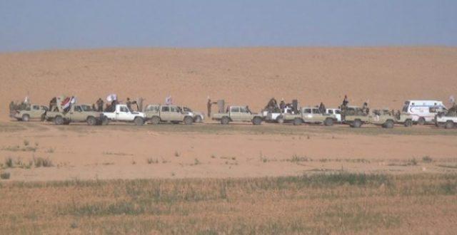 الحشد الشعبي يشرع بتأمين 120 كم من الحدود مع سوريا