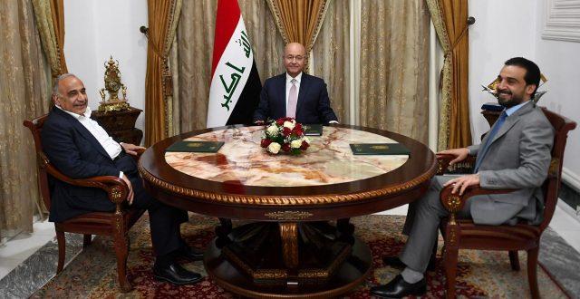 إجتماع الرئاسات الثلاث يؤكد ضرورة اكمال تشكيل الكابينة الحكومية وتوحيد الخطاب الرسمي الخارجي