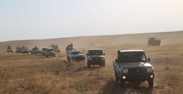 تطهير مساحات واسعة من صحراء الأنبار