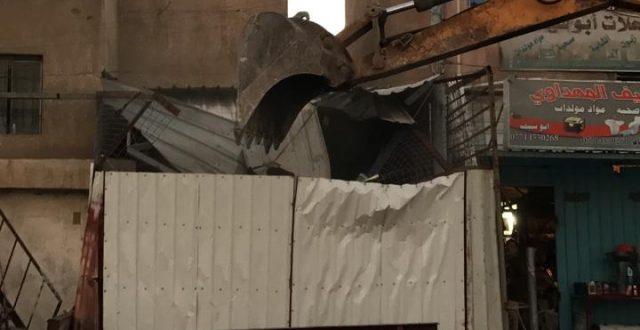 أمانة بغداد تستمر برفع التجاوزات جنوبي العاصمة