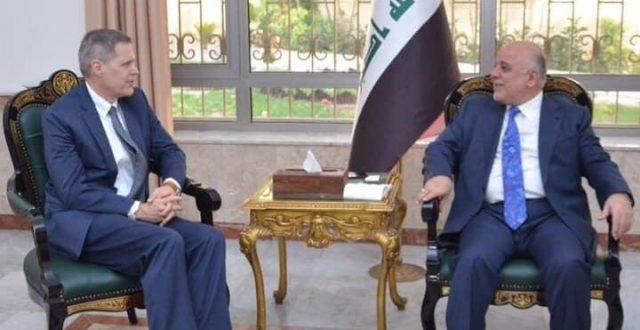 العبادي يستقبل السفير الامريكي في بغداد ماثيو تيلور