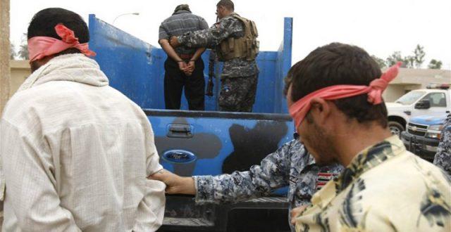 """اعتقال خمسة """"دواعش"""" كانوا يخططون لعمليات إرهابية في الانبار"""