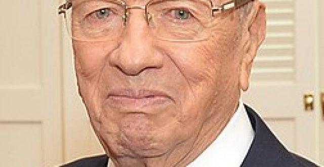 عاجل….وفاة الرئيس التونسي الباجي قايد السبسي