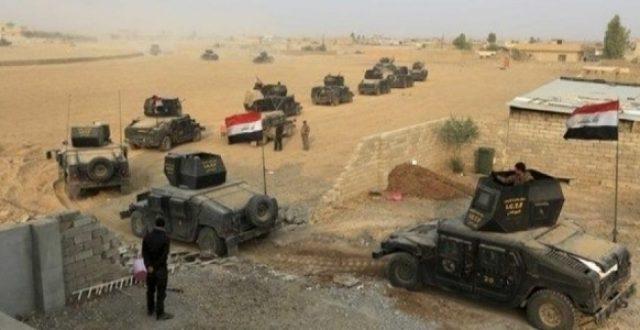قطع الامدادات وقتل ارهابيين وتدمير 10 انفاق جنوب غربي الموصل