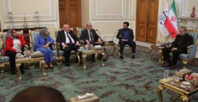 لاريجاني يثمن موقف العراق في قمة مكة أزاء الجمهورية الاسلامية