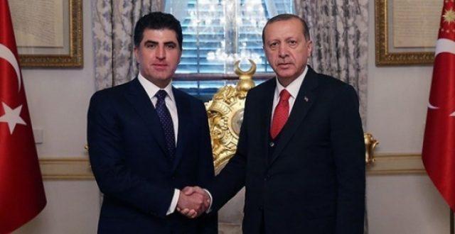 بارزاني يزور أنقرة اليوم ويلتقي أردوغان