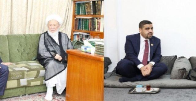 بماذا وجه المرجعين الشيخ الفياض والشيخ النجفي مفتش الداخلية ؟
