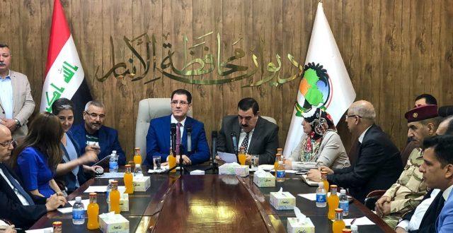 وزير التخطيط: نعمل على توحيد جهود الحكومتين المركزية والمحلية والجهود الدولية لإعادة استقرار واعمار المحافظة