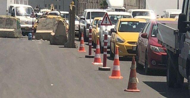 قطع طريق محمد القاسم ابتداء من مساء اليوم