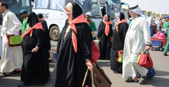 بعثة الحج: وصول اكثر من 33 الف حاج الى الديار المقدسة