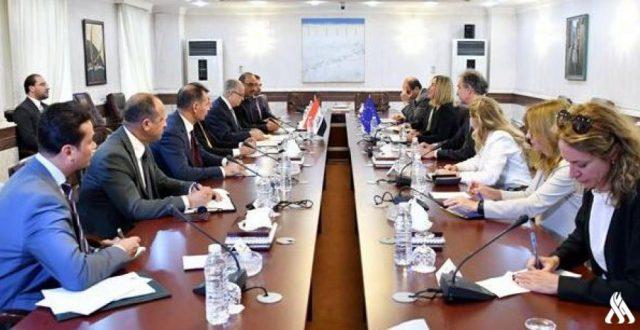 البيان المُشترَك لوزير الخارجيَّة العراقي وموغيريني حول العلاقات العراقـيّة- الأوروبيّة