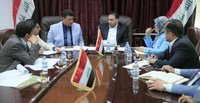 رئاسة البرلمان تدعو التربية للإسراع بإنجاز مشروع الأبنية المدرسية