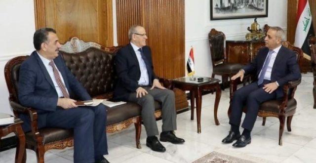 رئيس مجلس القضاء يبحث مع وزير الصحة مكافحة المخدرات