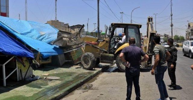 اعتداء جديد على أحد ملاكات أمانة بغداد اثناء عملهم الرسمي