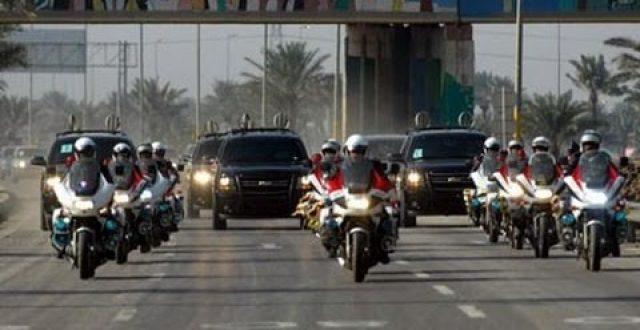 مديرية المرور تبدأ تطبيق إجراءاتها على الأرتال العسكرية وعجلات الوزارات