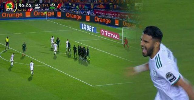 وفاة شاب جزائري بعد هدف فوز الذي سجله رياض محرز على نيجيريا