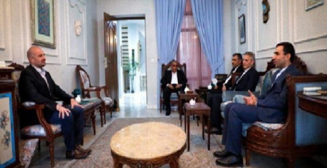 نجل طالباني يؤكد على تمتين العلاقات مع ايران