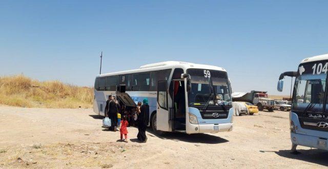 وزارة الهجرة : عودة 423 نازحا الى مناطق سكناهم في مناطق محافظة نينوى