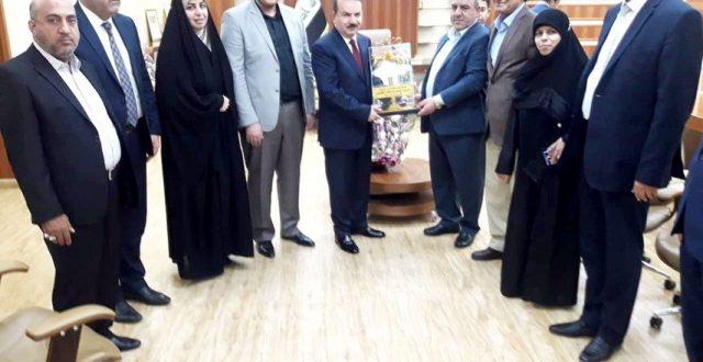 نائبة عن الفتح تناقش مع وزير الداخليّة أوضاع محافظة البصرة الأمنيّة والخدميّة التي تقدمها الوزارة