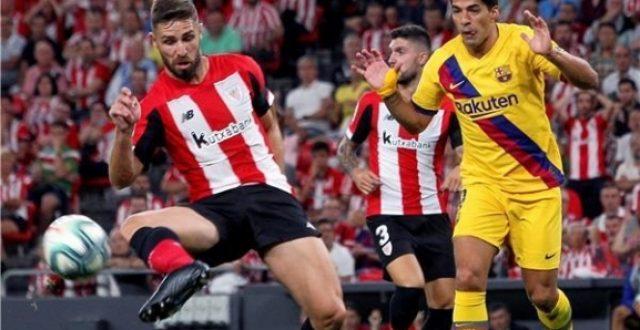برشلونة يخسر أمام بيلباو في إفتتاح الليغا