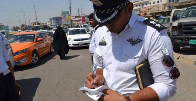 اعتداء على رجل مرور في منطقة الشعب ببغداد
