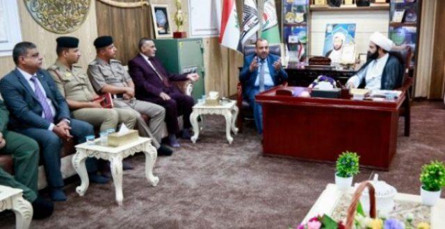 محافظ النجف يعلن قرب توزيع الاراضي على عوائل شهداء وجرحى الحشد الشعبي