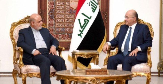 صالح والسفيران الايراني والامريكي يؤكدون ضرورة تخفيف توتر المنطقة
