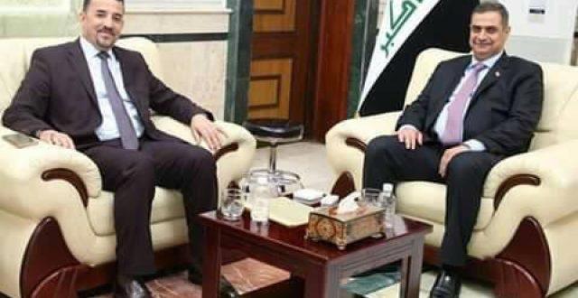 المعموري يستحصل موافقة وزير الدفاع في تمليك دور مجمع سعد الى شاغليه بديالى