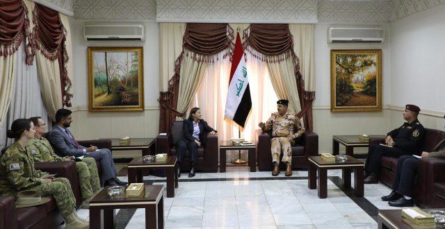 السكرتير الشخصي لرئيس الوزراء يستقبل سفيرة استراليا لدى العراق