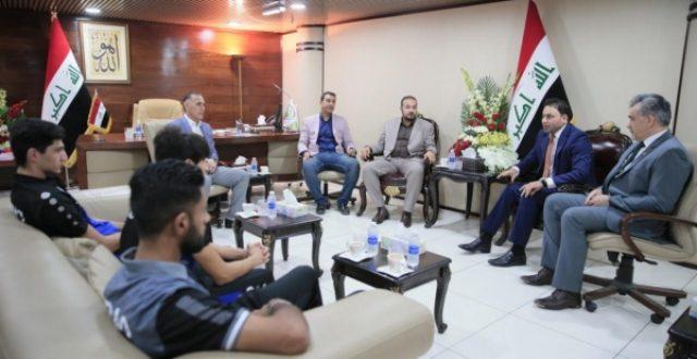 البرلمان يستقبل الوفد الرياضي للمواي تاي ويؤكد: انسحاب الكناني يمثل موقف العراق ضد التطبيع