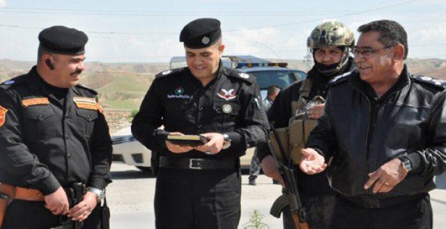 الداخلية تحيل مدير شرطة كركوك السابق و12 ضابطاً الى القضاء