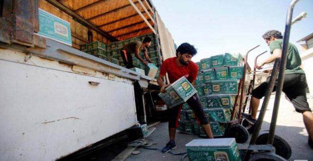 إيران تعلن تصدير 630 ألف طن من السلع إلى العراق في 4 أشهر