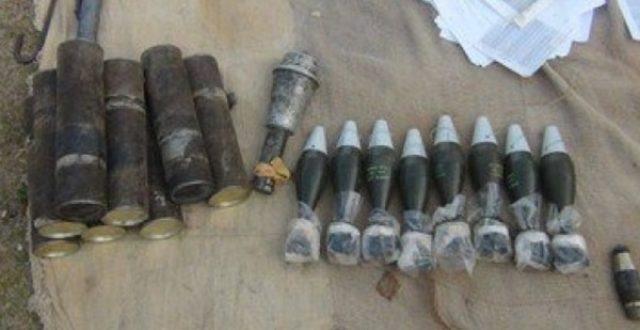 عبوات متنوعة ومعدات تفجير في منازل مناطق حزام بغداد