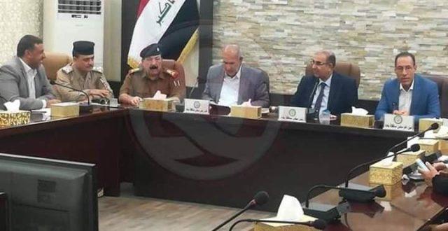مجلس محافظة بغداد يرسل كتاب الى رئيس الوزراء لإلغاء قرار  وزير الداخلية باقالة قائد شرطة بغداد ويعتبر هذا الامر  من اختصاص المجلس