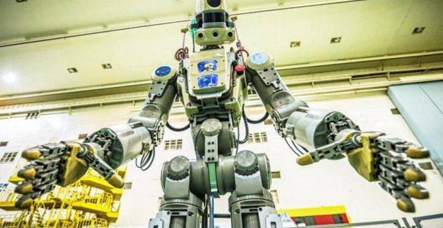 روسيا.. إطلاق أول روبوت بشري إلى محطة الفضاء الدولية