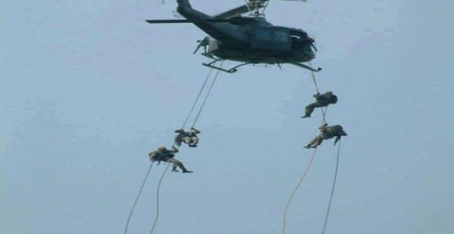 ضبط متفجرات بعملية إنزال جوي على منطقة ساخنة في العراق