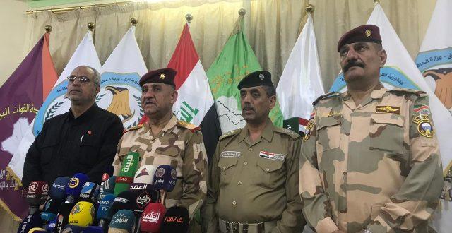 قائد عمليات الفرات الاوسط يعلن نجاح الخطة الامنية لزيارة العاشر من المحرم