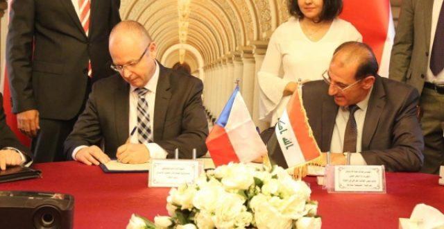 العراق والتشيك يوقعان محضر اعمال الدورة الثالثة لاجتماعات اللجنة المشتركة