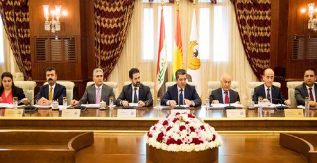 حكومة الاقليم تصدر عددا من القرارات بينها توحيد المنافذ الحدودية