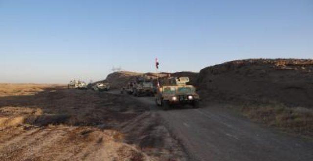 مداهمة مضافة لداعش في معسكر عائشة بديالى