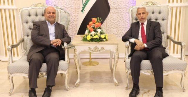 وصول أمين عام جمعية البرلمانات الآسيوية الى بغداد