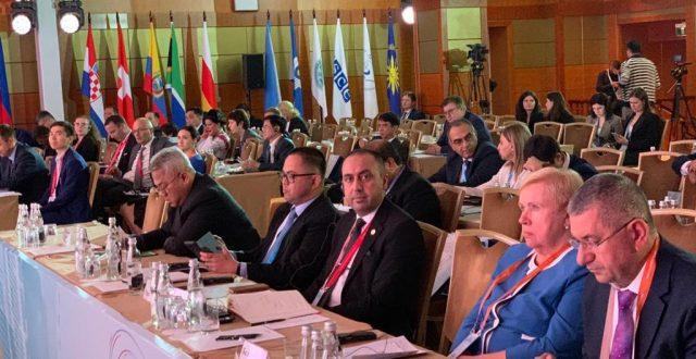 مفوضية الانتخابات تشارك في المؤتمر الدولي الموسع حول رقمنة الانتخابات والبعد الانساني في روسيا