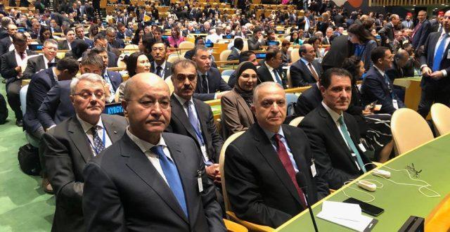بدء أعمال قمة المناخ بحضور رئيس الجمهورية ووزيري الخارجية والتخطيط وأمينة بغداد
