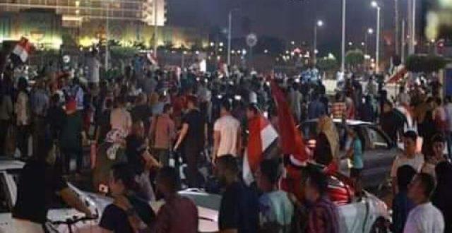 يحدث الان: تظاهرة في ميدان التحرير وسط القاهرة تحمل شعار الشعب يريد اسقاط النظام