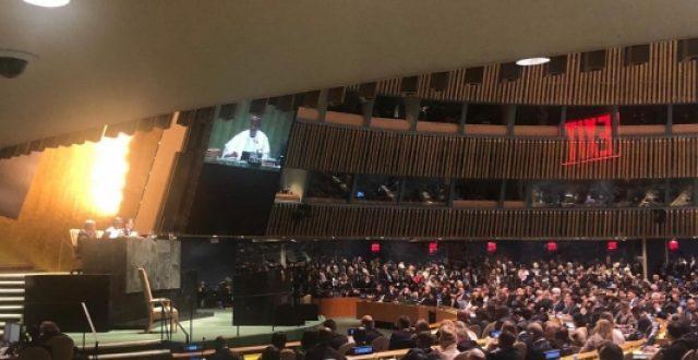 بدء أعمال الجمعية العامة للامم المتحدة بحضور العراق
