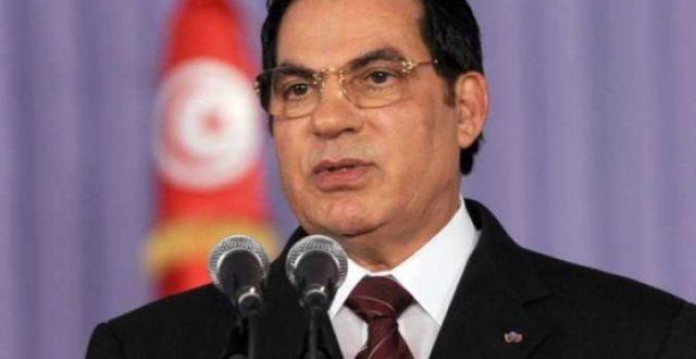 وفاة الرئيس التونسي المخلوع بن علي