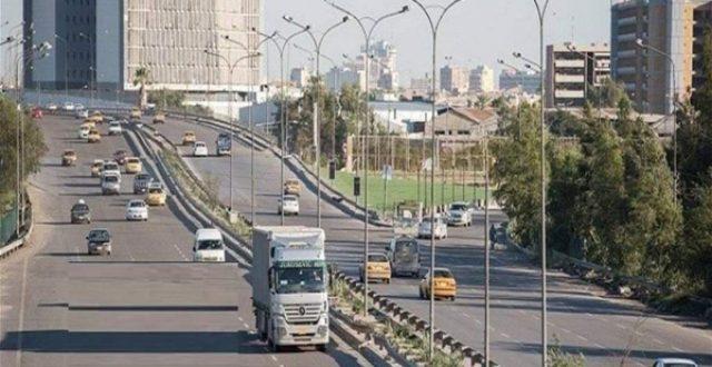 امانة بغداد تعلن آخر نسبة إنجاز في صيانة سريع محمد القاسم