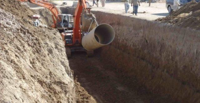إيقاف إعلان وإحالة أربعة مشاريع مجاري في بغداد