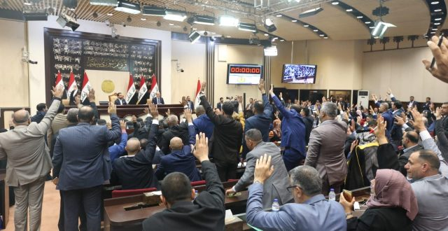 مجلس النواب يُصوت على رئيس مجلس الخدمه الاتحادي ونائبه وأعضائه